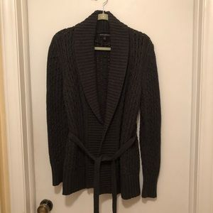Banana Republic Factory belted sweater